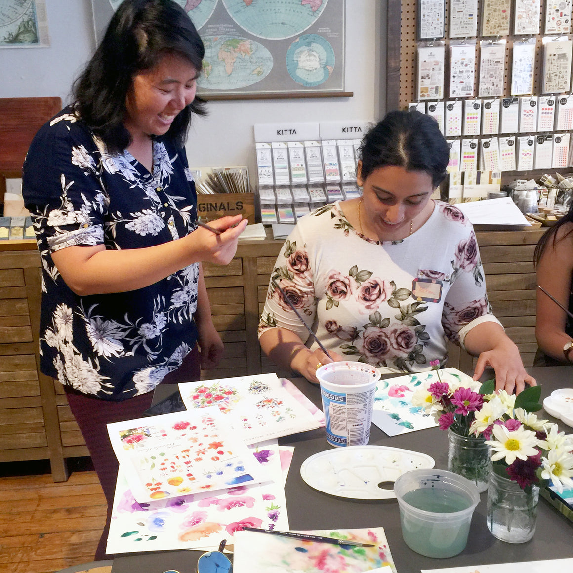 Watercolour Workshop: Cacti & Succulents - A Beginner Level Workshop with Coco Bee Art