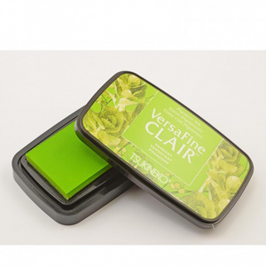 TSUKINEKO - Green Verdant (502) Quick-drying Oil-based Pigment Stamp Pad