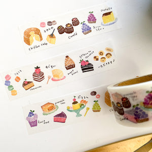 Washi Tape - Hankodori - Japanese Sweets
