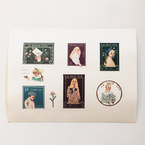 La Dolce Washi 2 Sheet Sticker Set - Dear