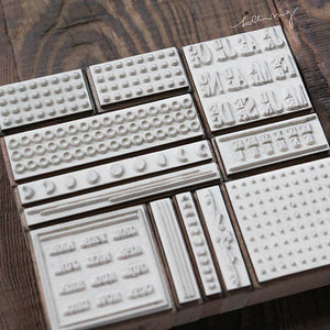 Lin Chia Ning Rubber Stamps Set -  Odds and Ends Rubber Stamps Vol. 2