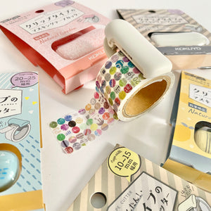 Kokuyo Karu Cut Washi Tape Cutter 20-25mm - White