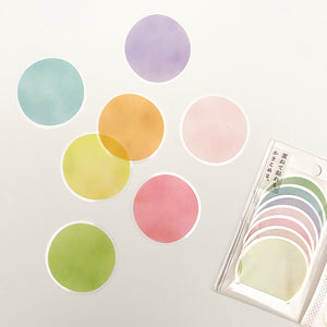 Kamio Memo Dots  - Light Colors - 41124