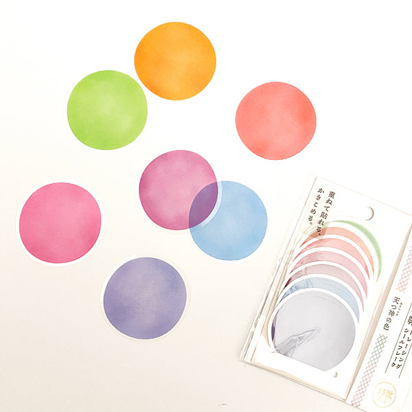 Kamio Memo Dots  - Jewel Colors - 41125