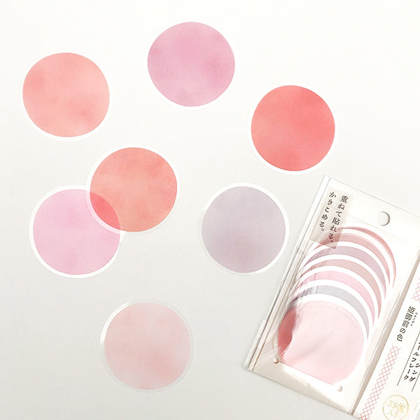 Kamio Memo Dots  - Red Pink Color - 41123