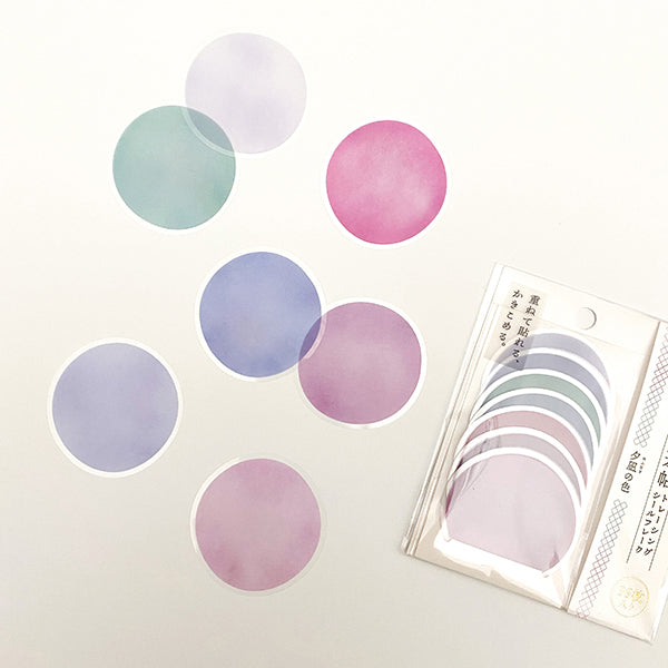 Kamio Memo Dots  - Purple Color - 41122