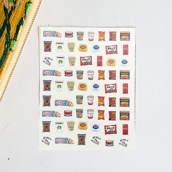 On The Bright Side - Stickers - Iconic Foods