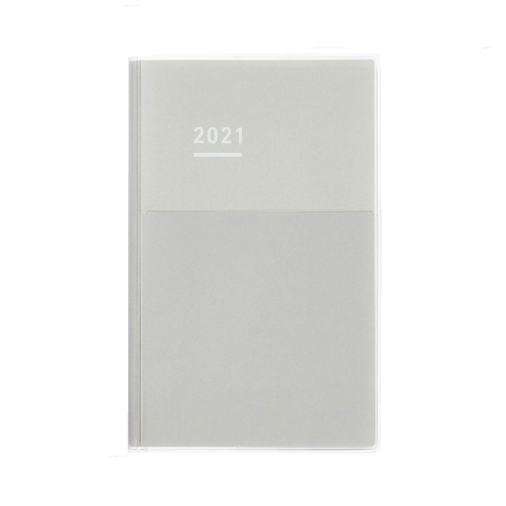Pre Order: Kokuyo Jibun Notebook DAYS Mini 2021 - Gray