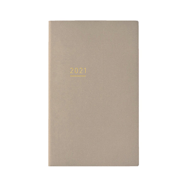 Kokuyo Jibun Notebook LITE Mini 2021 - Beige