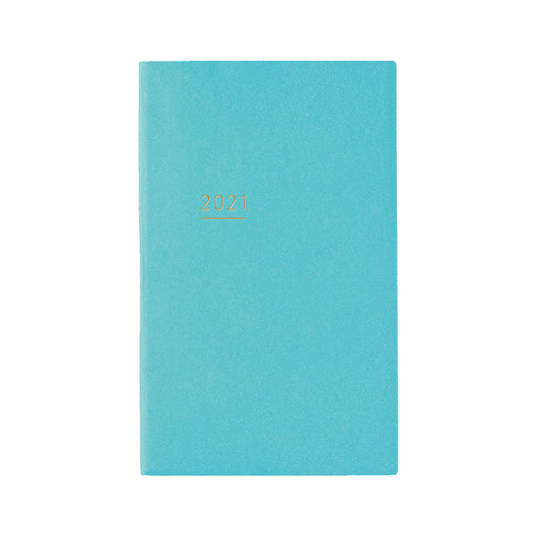 Pre Order: Kokuyo Jibun Notebook LITE Mini 2021 - Blue