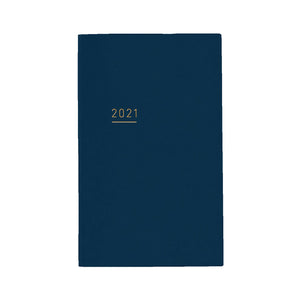 Pre Order: Kokuyo Jibun Notebook LITE Mini 2021 - Navy