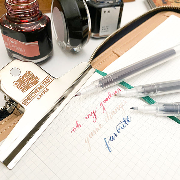 Kuretake Karappo BRUSH Pen - Customize your pen color