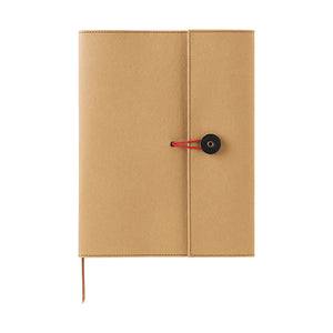 Kraft Notebook Cover - A5 - Beige