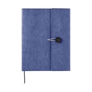 Kraft Notebook Cover - A5 - Navy Blue