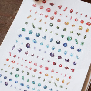 Lin Chia Ning Print-On Stickers - Star Dust
