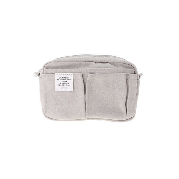Pre Order Delfonics Small Carrying Pouch - Light Gray
