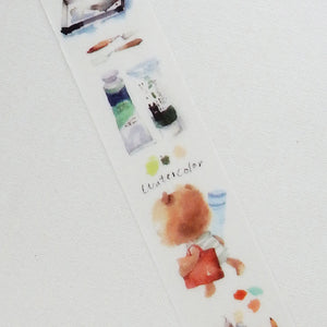 Liang Feng Washi Tape - The Bear's Sketch Life - MTW-LF018