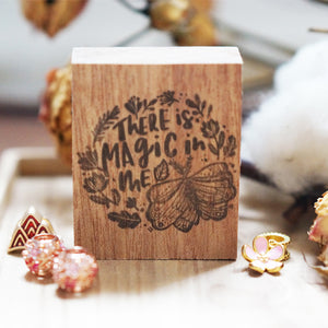 Black Milk Project Rubber Stamp - Magic In Me