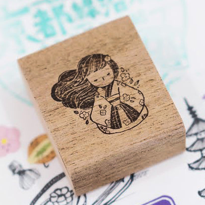 PRE ORDER: Black Milk Project Rubber Stamp - Miko