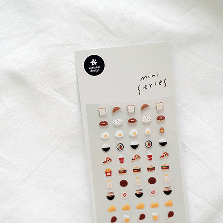 Suatelier Mini Series Stickers - 101 Food 01