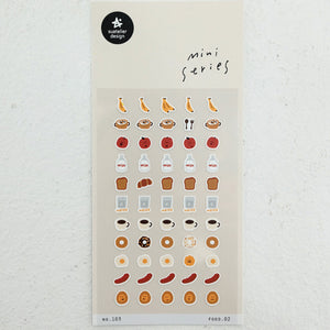 Suatelier Mini Series Stickers - 103 Food 02
