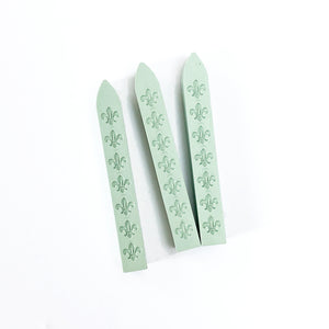 Wax Seal Sticks - Non-Wicked - Mint Green