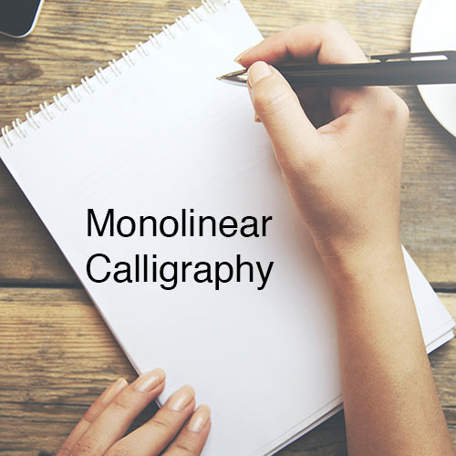 Intro to Monolinear Calligraphy - An ONLINE Workshop