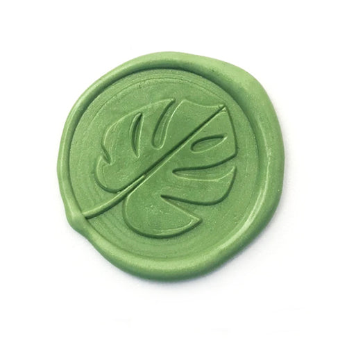 Wax Seal Stamp - Mister Robinson - Monstera - 25mm