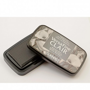 TSUKINEKO - Morning Fog Gray Morning Mist (352)Quick-drying Oil-based Pigment Stamp Pad