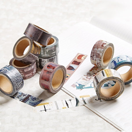 Limited Edition Washi Tape Set of 10 - Chamil Garden x Chimei Museum