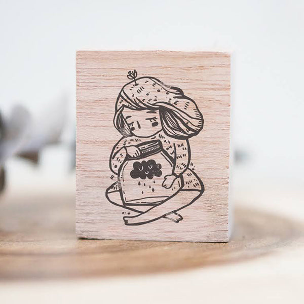 CUSTOM Black Milk Project Rubber Stamp - My Little Jar - Order closes Sept. 20th
