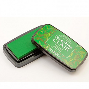 TSUKINEKO - Oasis Green (501) Quick-drying Oil-based Pigment Stamp Pad