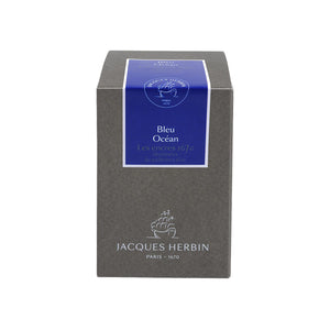 J. Herbin Fountain Pen Ink - 1670 Anniversary 50 ml Bottle - Blue Ocean