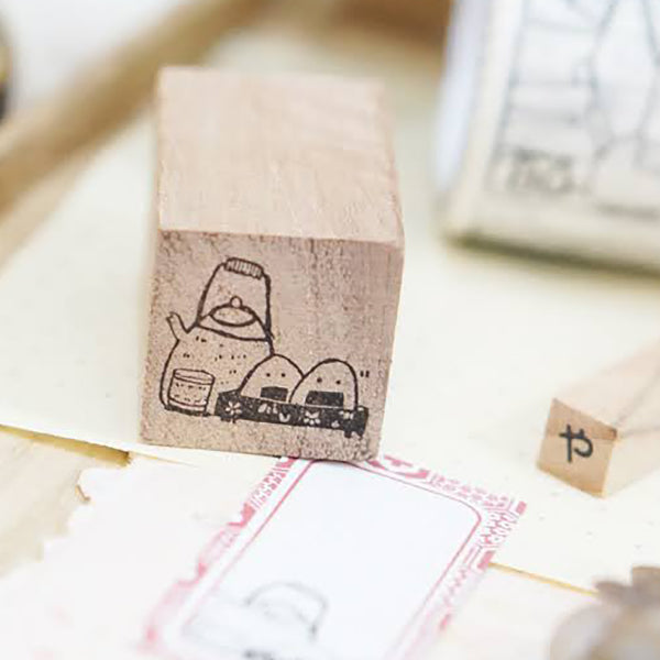 PRE ORDER: Black Milk Project Rubber Stamp - Mini Oyatsu