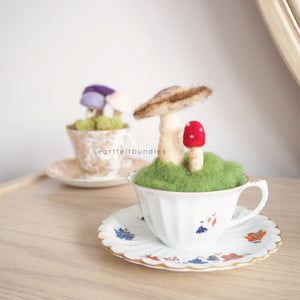 Intro to Needle Felting - Woodland Teacup Treasure