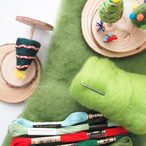 Intro to Needle Felting - A Holiday Workshop