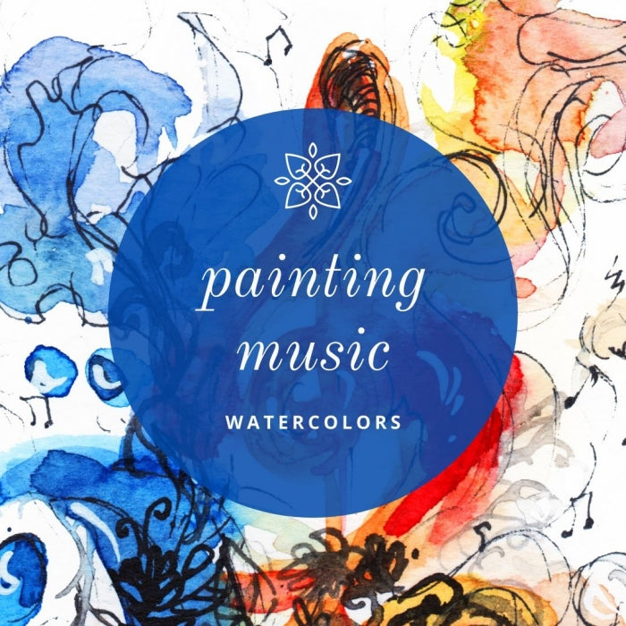 NEW SATURDAY DATE: ONLINE Watercolor Workshop - Painting to Music With CocoBee Art