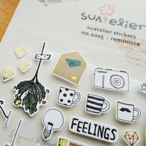 Suatelier Stickers - 1025 Reminisce