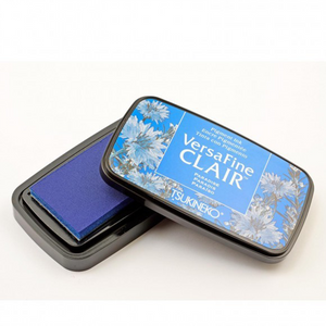 TSUKINEKO - Paradise Blue (602) Quick-drying Oil-based Pigment Stamp