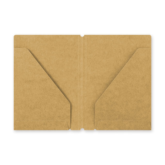 Traveler's Notebook Refill 010 - Passport Size - Kraft Paper Folder
