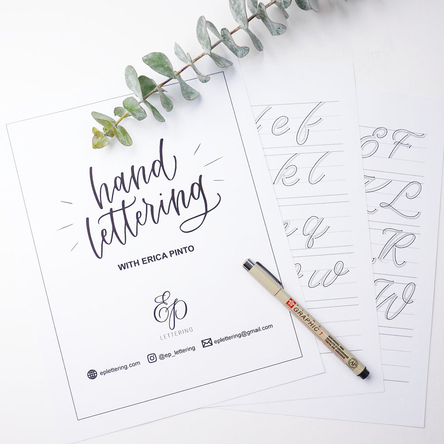 Brush Lettering + Gold Foil with EP Lettering - Creating Custom Greeting Cards