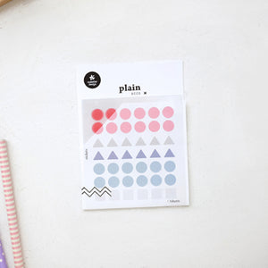 Suatelier Stickers - Plain Deco 1606 Plain 02