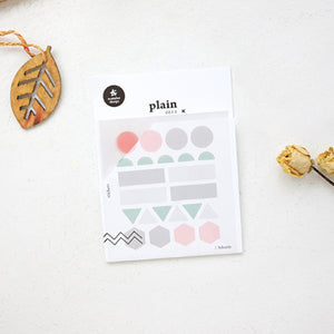 Suatelier Stickers - Plain Deco 1607 Plain 03