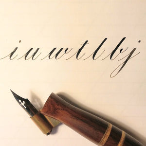 Intro to Pointed Pen Calligraphy - ONLINE Workshop
