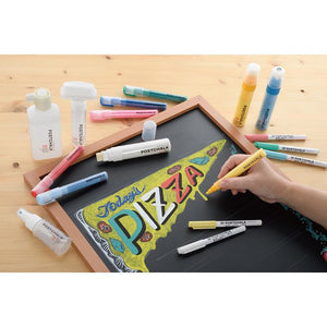 Kuretake Post Chalk Marker Set - Pastels