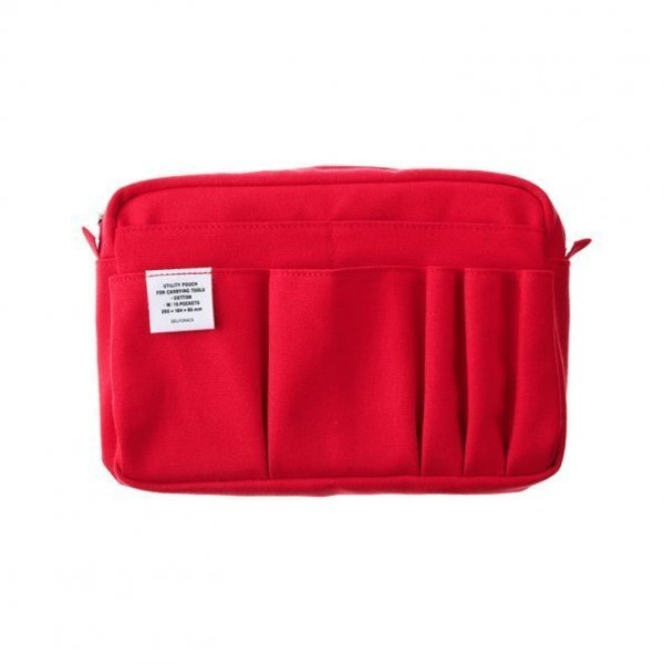 Pre Order Delfonics Medium Carrying Pouch - Red