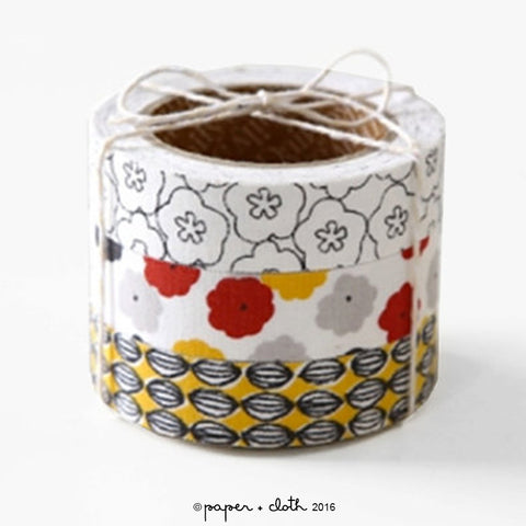 Daily Like Blossom Fabric Tape Set