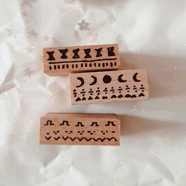 Yeon Charm Rubber Stamp - Childhood