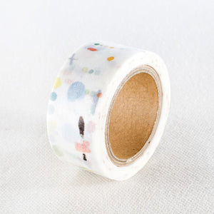 Liang Feng Washi Tape - Color Dot - MTW-LF066