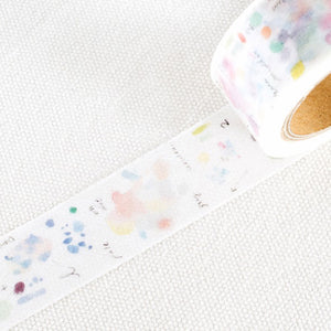 Liang Feng Washi Tape - Pink Clouds - MTW-LF067